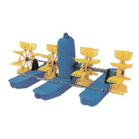 Aerator paddle wheel 3 impeller - Alat Perikanan